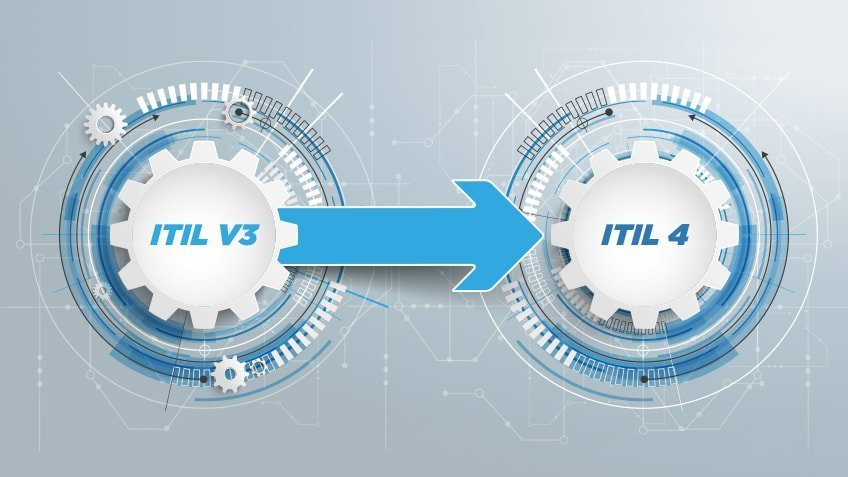 difference between itil 3 and 4