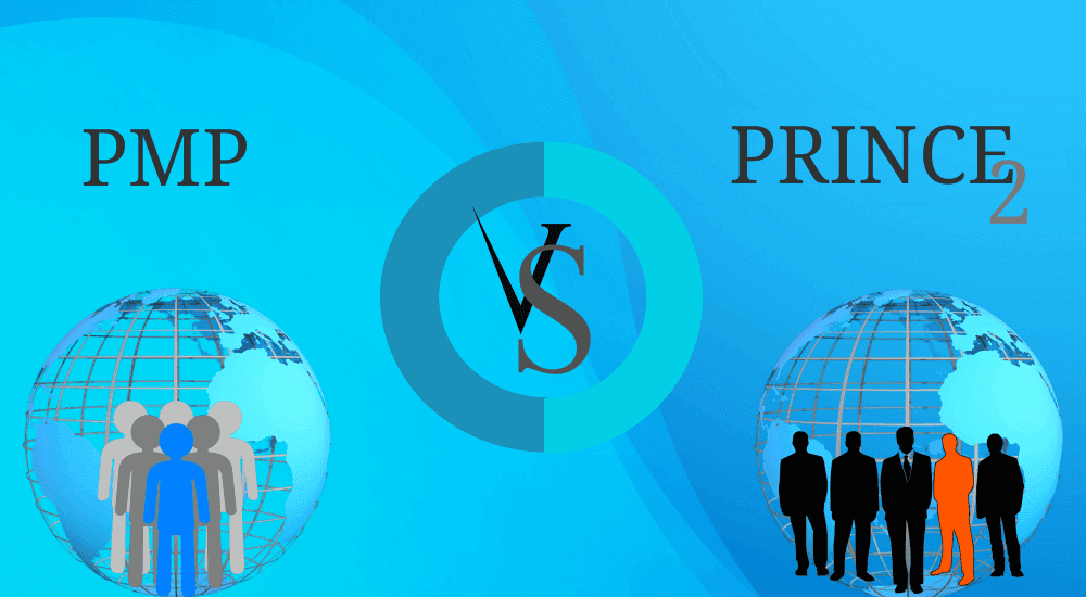 Difference between PMP and PRINCE2